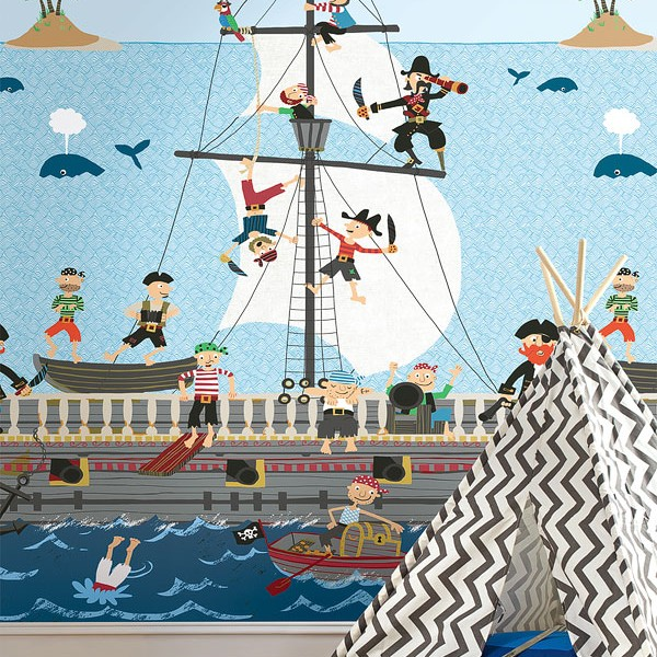 Murals Kids theme Pirates-41426B