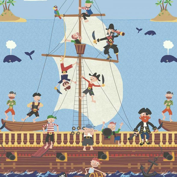 Murals Kids theme Pirates-C71542