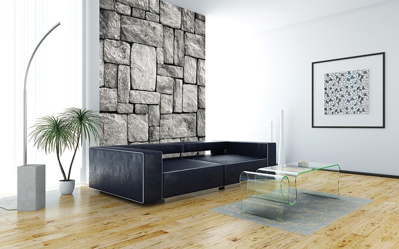 Murals Stone Imitation Disorganized Wall-712445