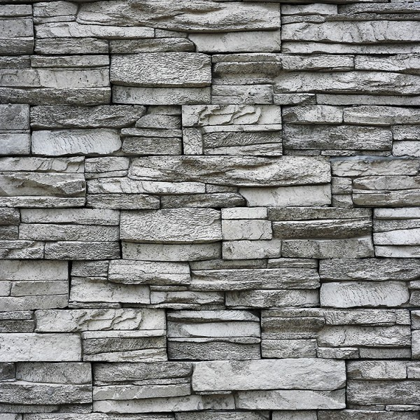 Murals Stone Imitation Grey Brick Wall-895535