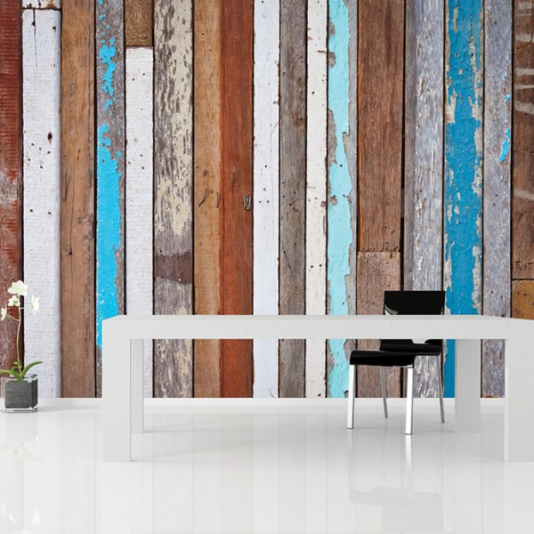 Murals Wood Imitation Rough-971561