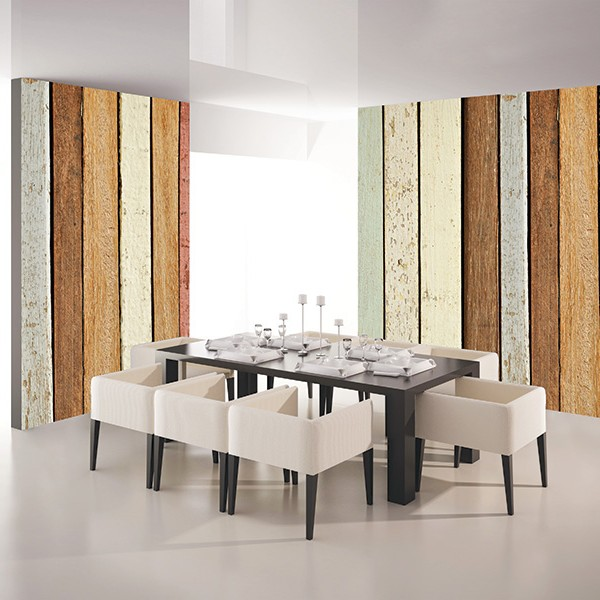 Murals Wood Imitation Retro Wood-612169