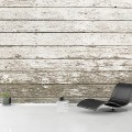 Murals Wood Imitation White Faded-710302