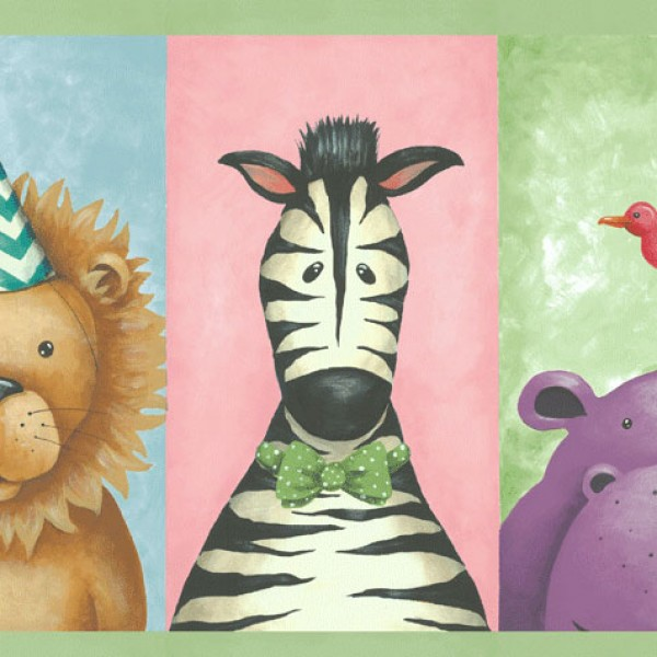 Borders Happy Animals-E5384C