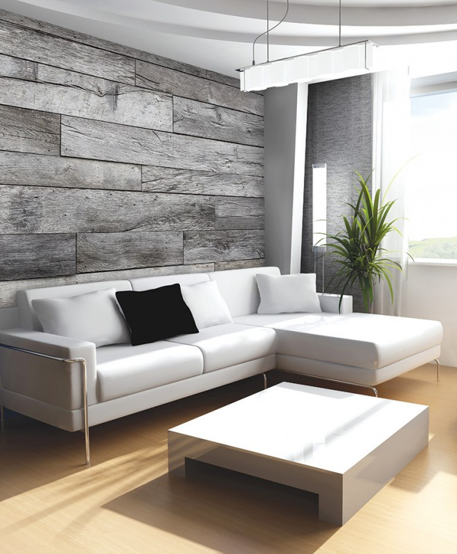 Murals Wood Imitation Recycled Wood-597774