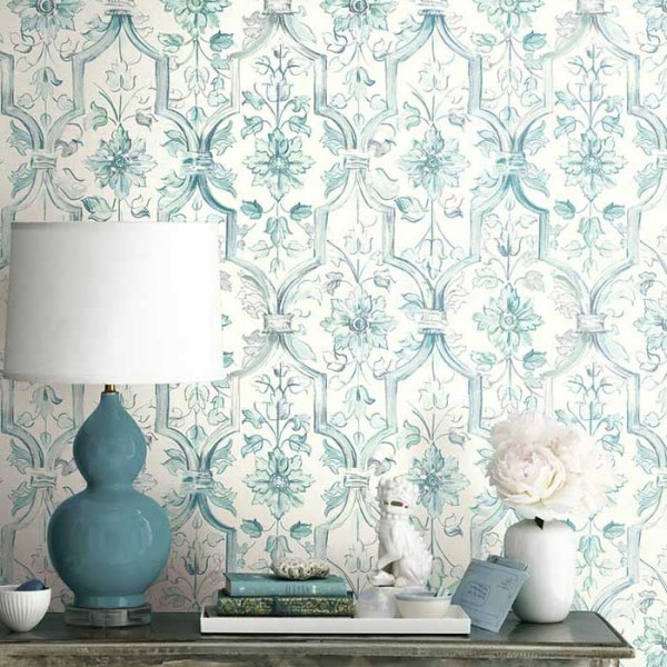 Floral wallpaper Fannia-189540