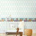 Geometric wallcoverings Geometric Ornament-F7171C