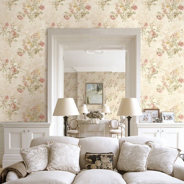 Floral wallpaper Bridgwater-960920