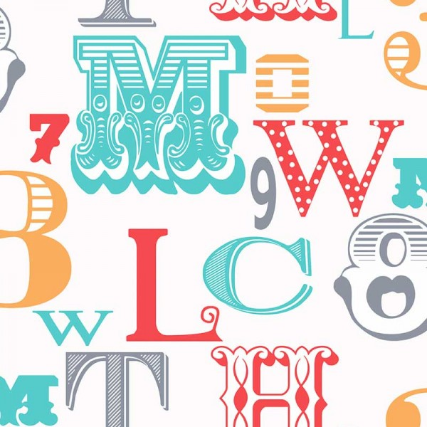 Kids wallpapers All About The Letters-E3B480