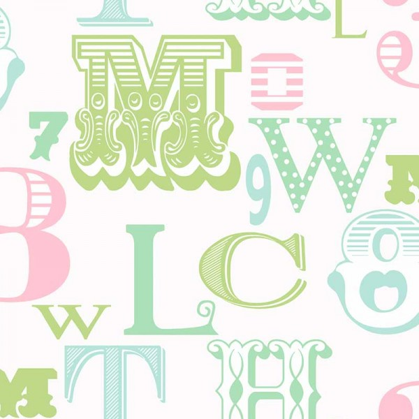 Kids wallpapers All About The Letters-8F1729
