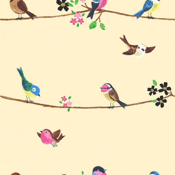Kids wallpapers Singing Birds-36A27C