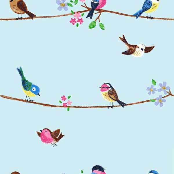 Kids wallpapers Singing Birds-584C9D
