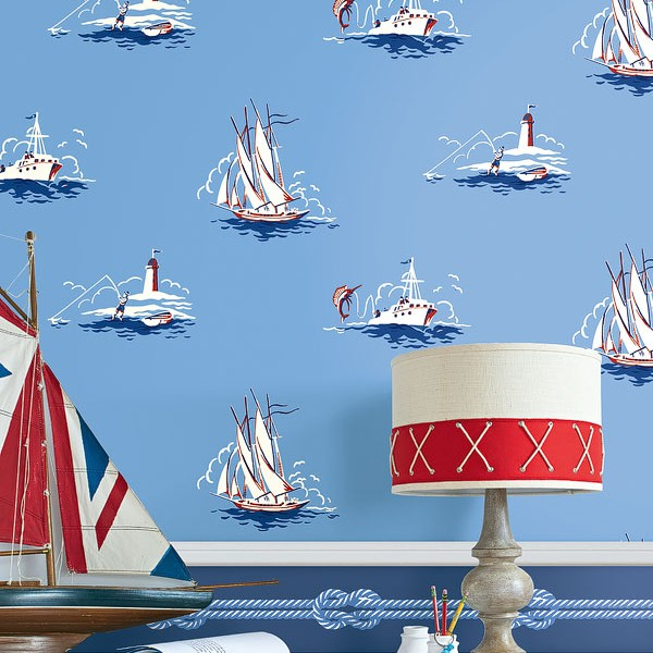 Kids wallpapers Fishing-703B06