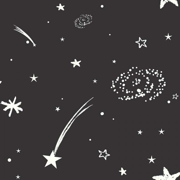 Kids wallpapers Starry Sky-CFDF9C