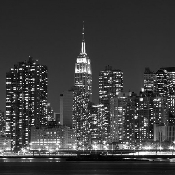 Murals Countries and Cities NY at Night-112234