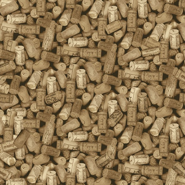 Design Wallcoverings Wine Corks-768688