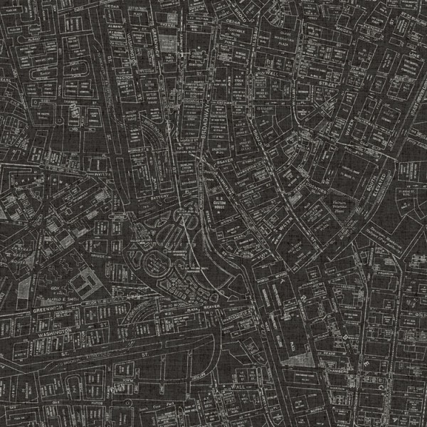 Design Wallcoverings Streets Map-1674