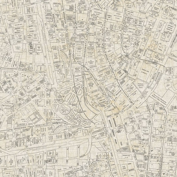 Design Wallcoverings Streets Map-357104