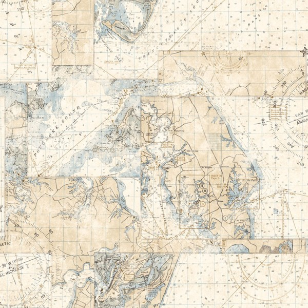 Design Wallcoverings Compass and Maps-1047635