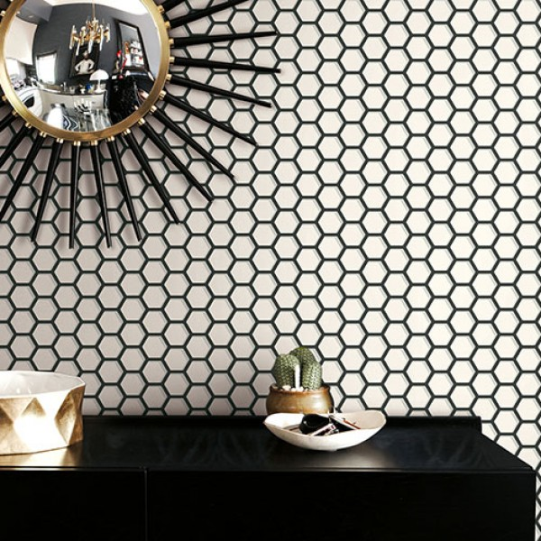 Geometric wallcoverings Lacey-169874