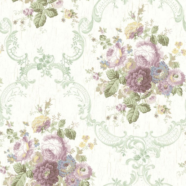 Floral wallpaper Floral Bouquet-578682