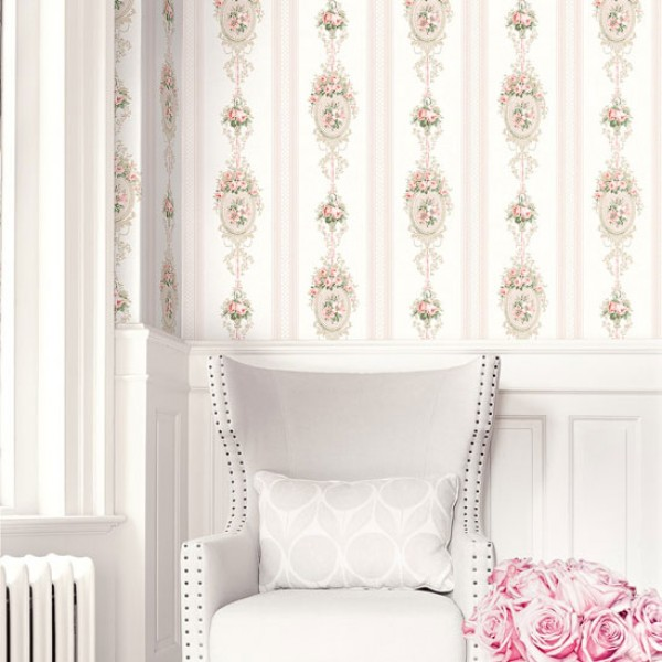 Design Wallcoverings Cameo Stripes-286331