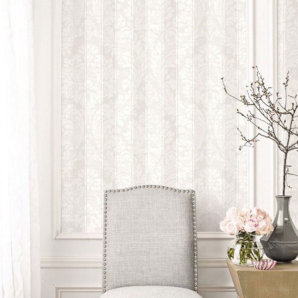 Klassische Tapeten Damask Stripes-1005067