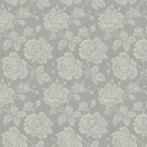 Floral wallpaper Rose Fabric-329090