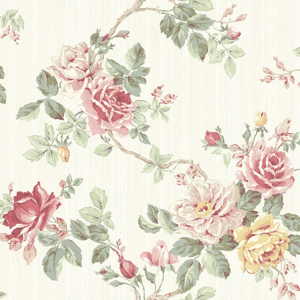 Floral wallpaper Rose Trail-566942