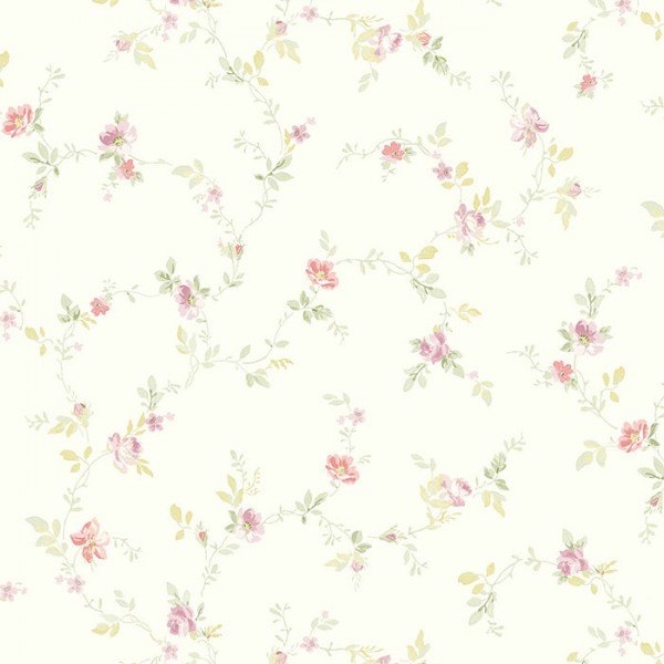 Floral wallpaper Pittsfield-8D6589