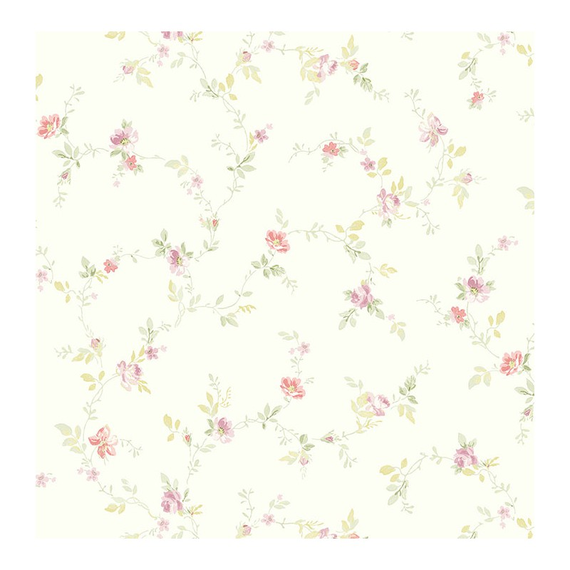 Floral wallpaper TPN-8D6589 buy