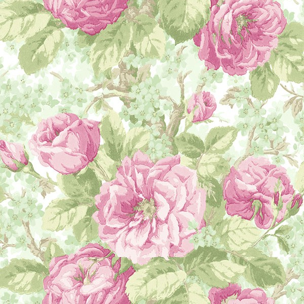 Floral wallpaper Laurence-385739