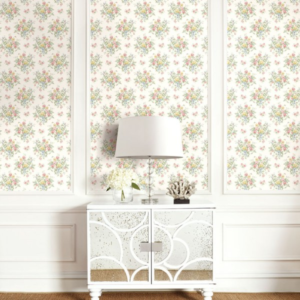 Floral wallpaper Dewsbury-E2C842