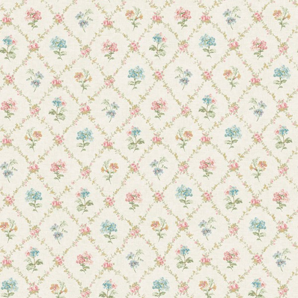 Floral wallpaper Kidderminster-B1981C