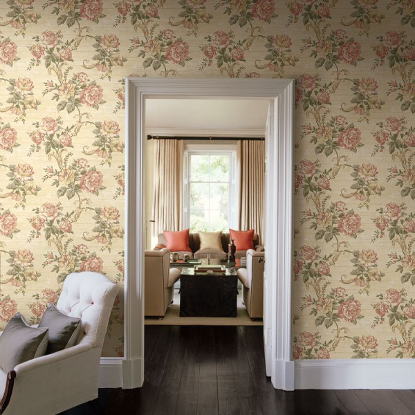 Floral wallpaper Ladybridge-896378