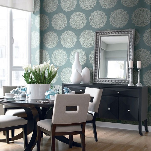 Oriental wallpaper Mickey-615073