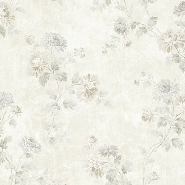 Floral wallpaper Champagne Trail-467975