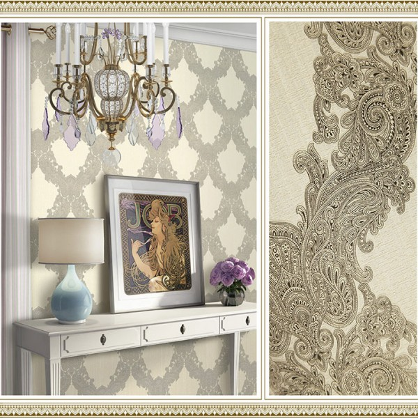 Baroque wallpaper Paisley Lace-771244