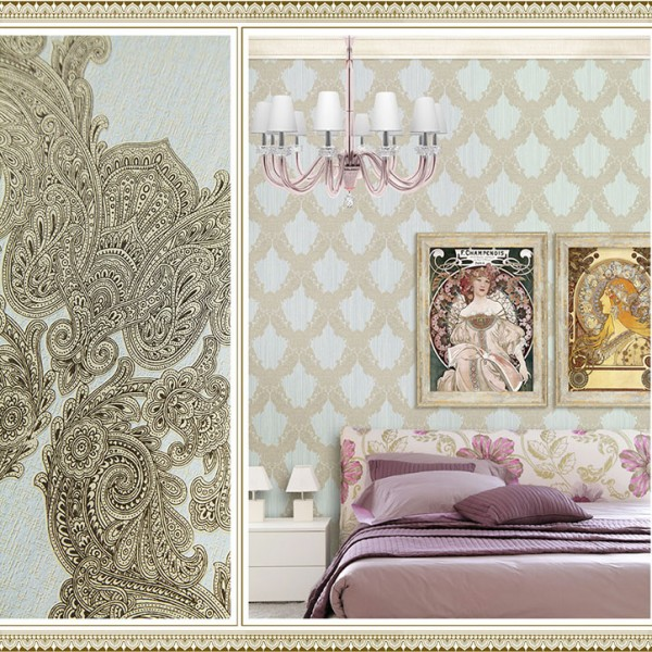 Baroque wallpaper Paisley Lace-361371