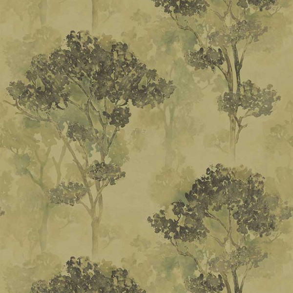 Aquarell Tapeten Trees-535CC8