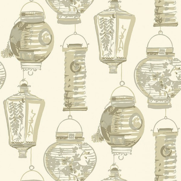 Oriental wallpaper China Lanterns-54641A