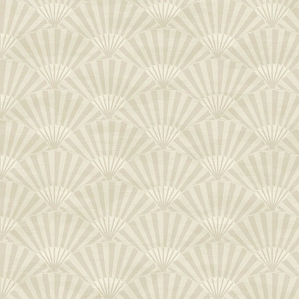 Oriental wallpaper Plain Fans-FBBB0A