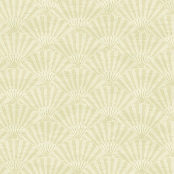 Oriental wallpaper Plain Fans-24D86E