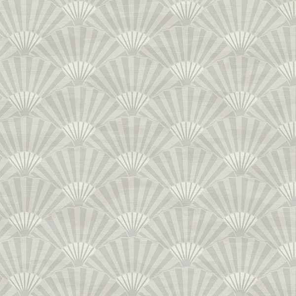 Oriental wallpaper Plain Fans-61050A