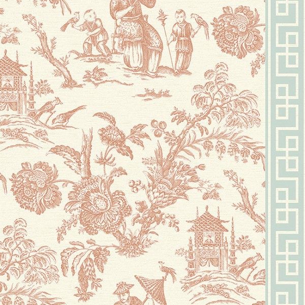 Oriental wallpaper Spring in China-D6C561
