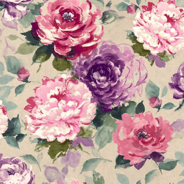 Floral wallpaper Olawell-295185