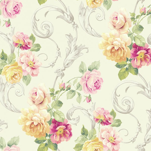 Floral wallpaper Parkside Chase-780210