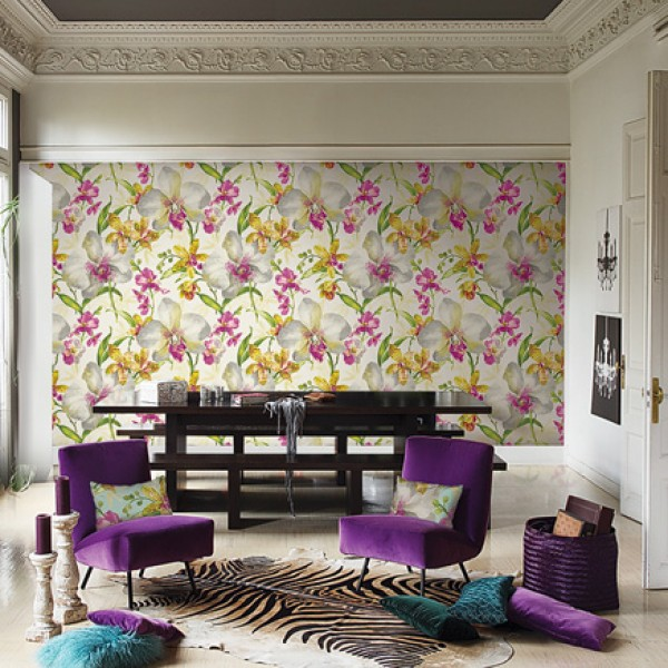 Floral wallpaper Sunny Drive-253623