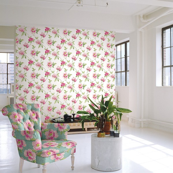 Floral wallpaper Tima-813843