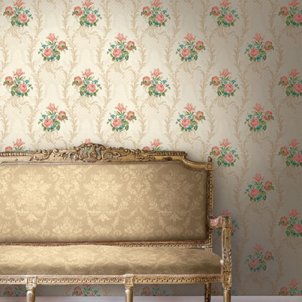 Floral wallpaper Rasen-296738